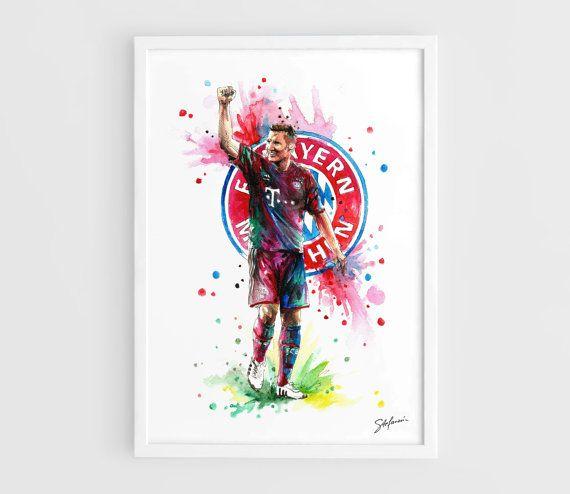 Bastian Schweinsteiger Bayern Munich  A3 Art Prints of by NazarArt, $15.00
