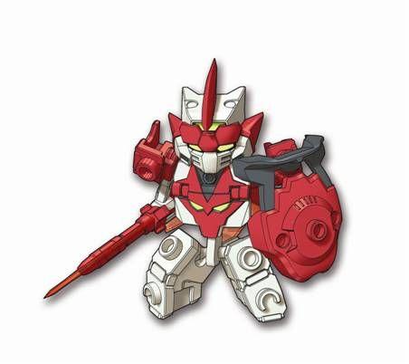 Bravenwolf, the leader of the Tenkai Knights! | Tenkai Robots ...