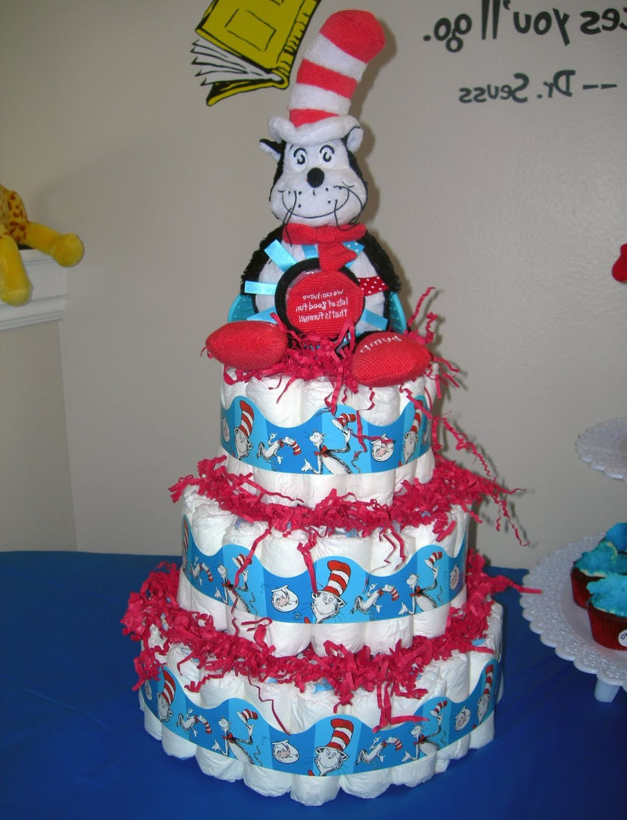 Dr Seuss Baby Shower Diaper Cakes U2013 Cake Design And Cookies