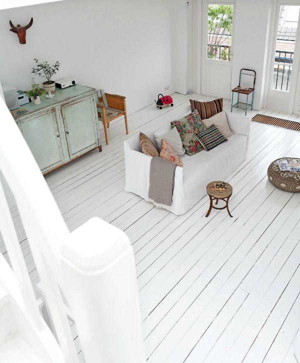 Witte vloer hout kc37 belbin info for Witte vloer