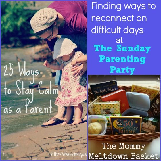 Helpful parenting tips at The Sunday Parenting Party