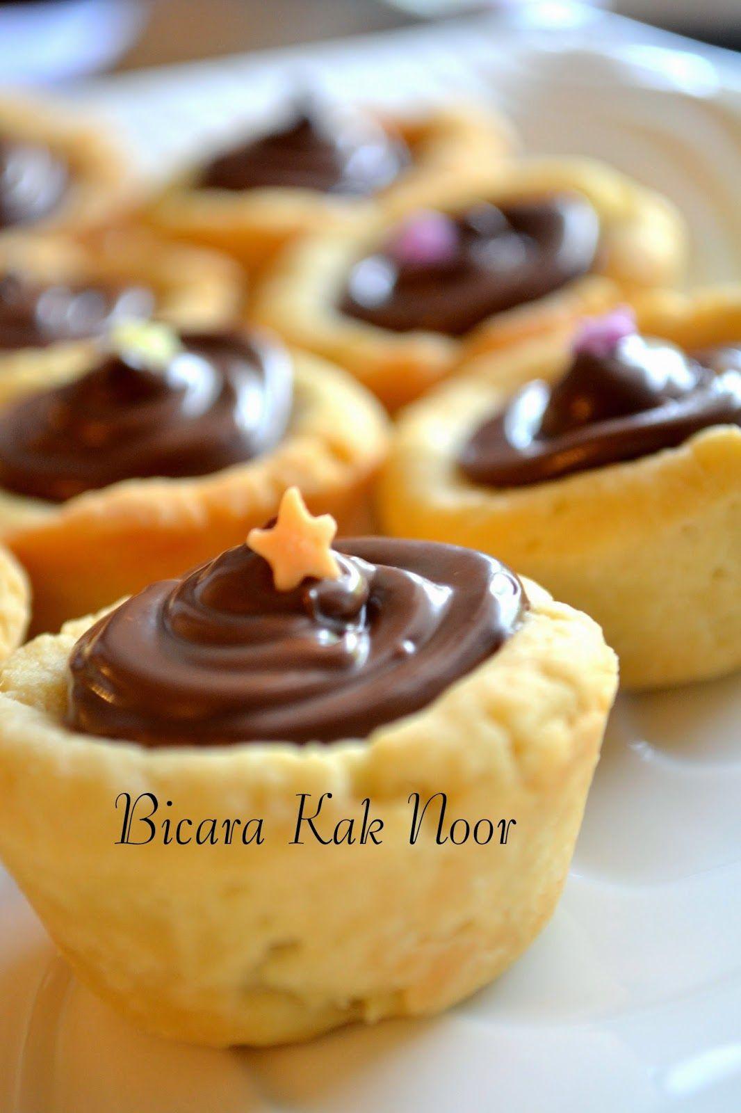 Nutella Tart Yang Sangat Sedap Resepi Pinterest Lagiii Bicara Kak Noor Nutella Mini Cakes Cake Recipes