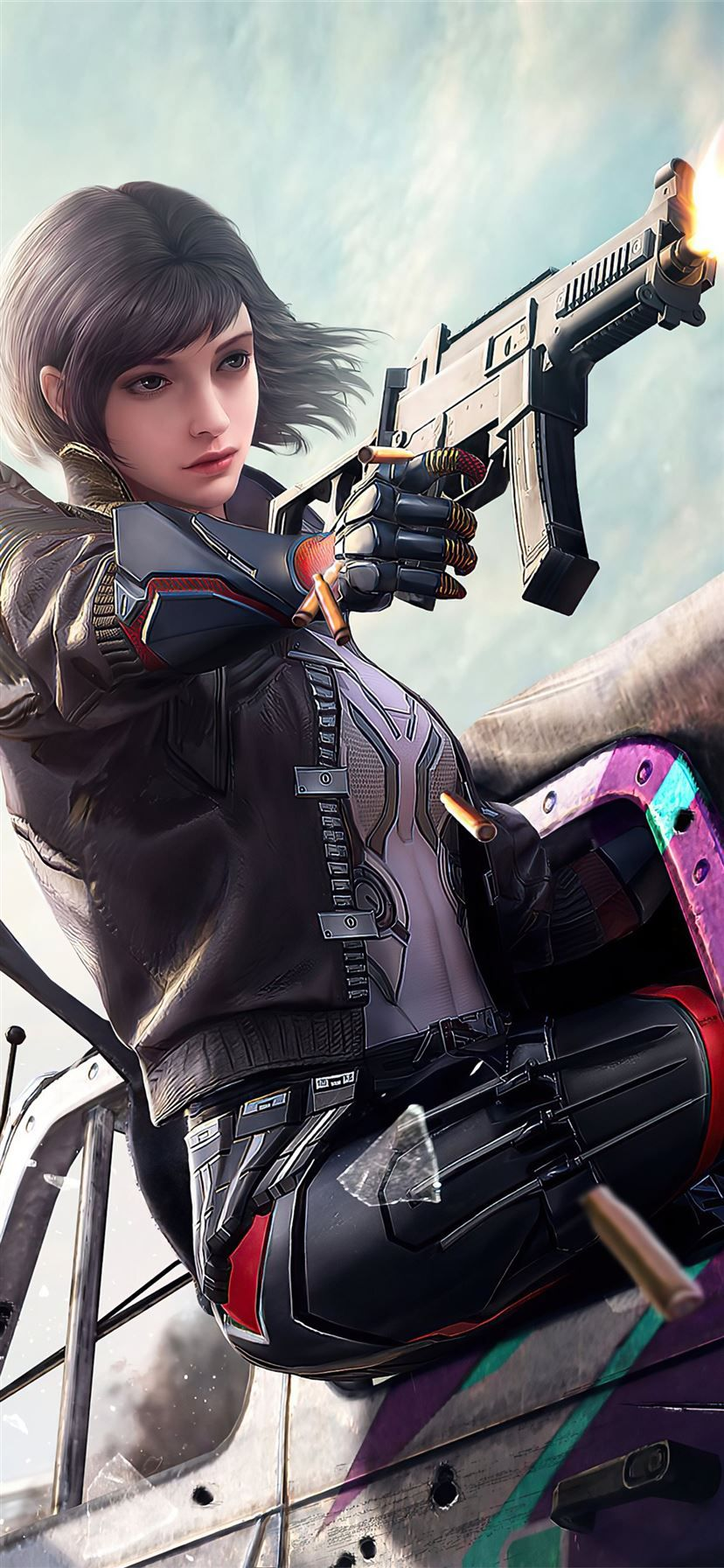 2020 pubg girl 4k game iPhone 11 ...