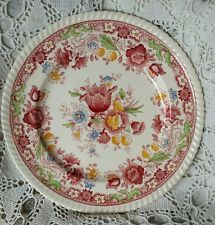 """JOHNSON BROTHERS China WINCHESTER pink DINNER PLATE 10"""""""