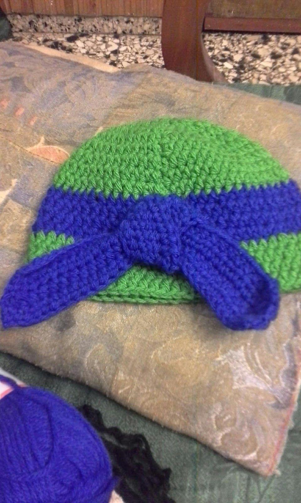 Todo con crochet: Tortuga Ninja   Crochet   Pinterest   Tortuga