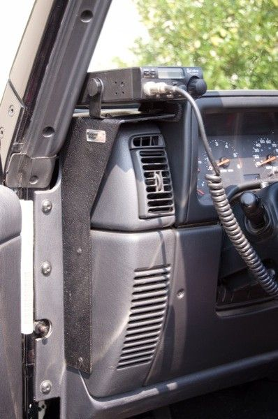 Cb Radio Dash Mount 97 06 Jeep Tj Lj Wranglers 29 99 Jeep