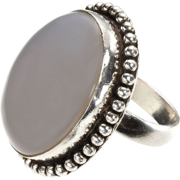 Monsoon Aurora Stone Ring ($28) ❤ liked on Polyvore featuring jewelry, rings, grey, jewels, monsoon, stone rings, stone jewelry, stone jewellery, stud ring and studded jewelry