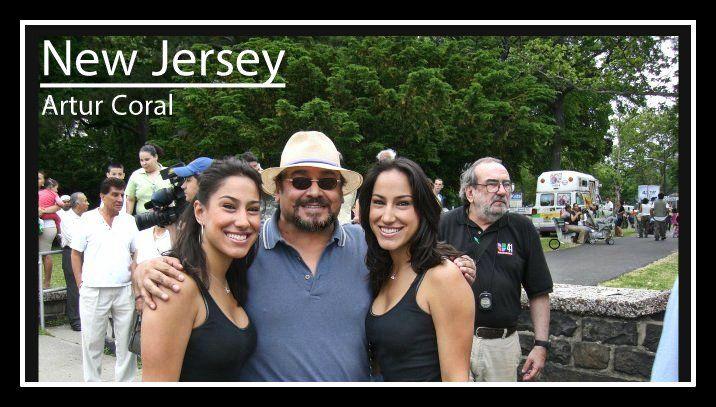 Las Gemelas Del Show El Vacilón De La Mañana Y Artur Coral En Nueva Jersey