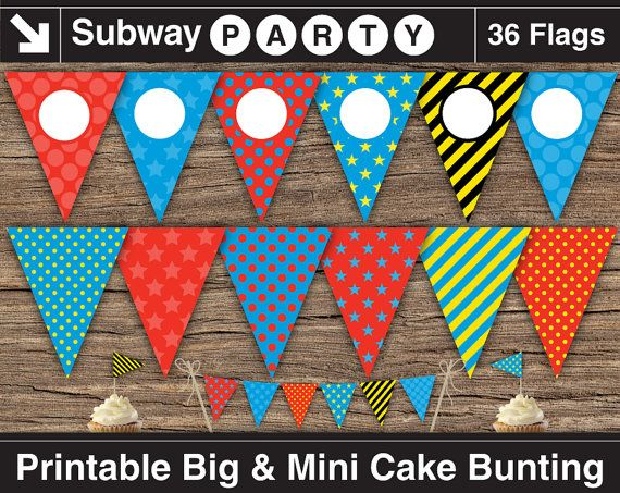 INSTANT DOWNLOAD Thomas The Train Inspired by subwayParty on Etsy