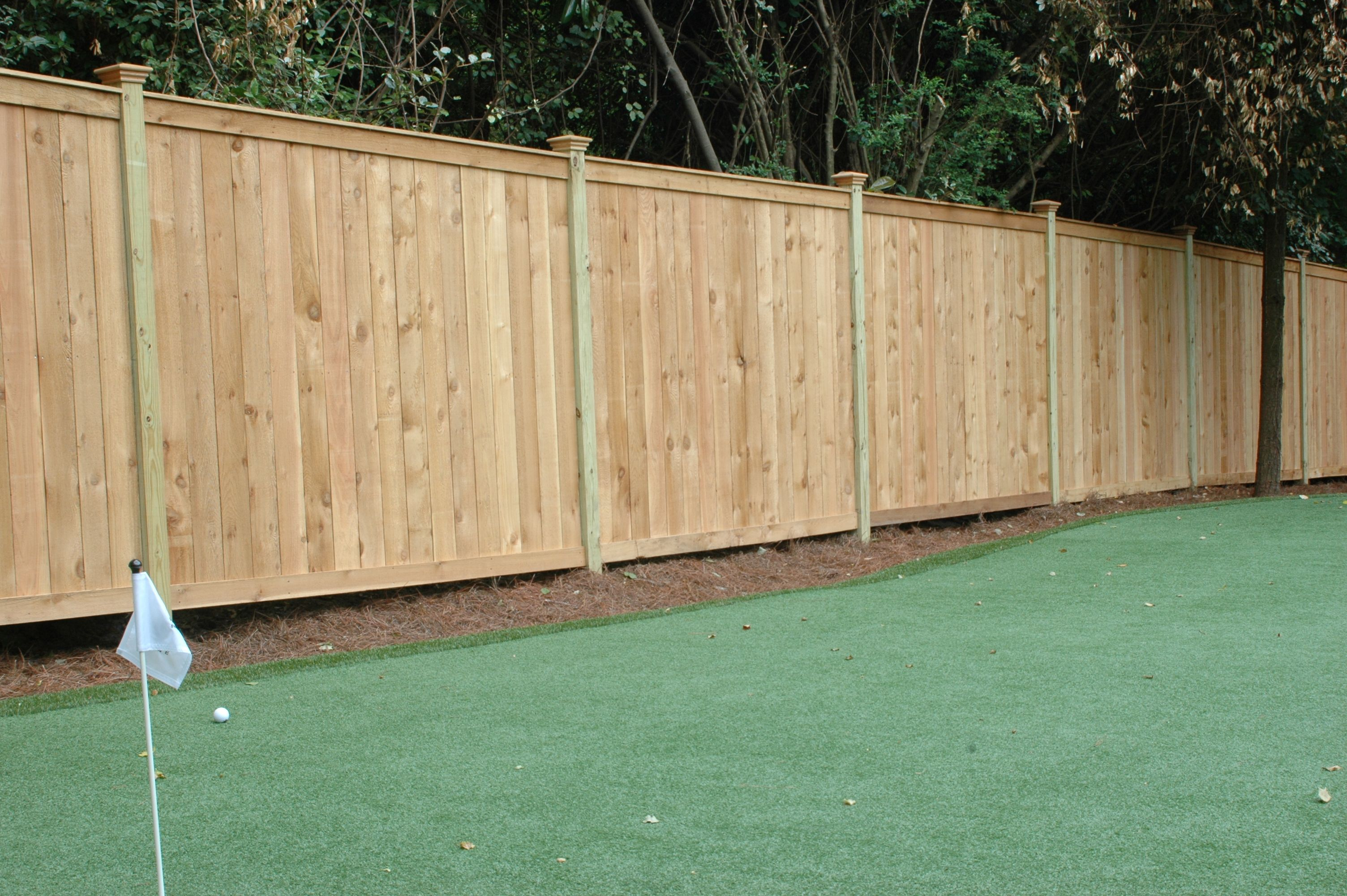 Highland Style Cedar Privacy Fence Highland Style