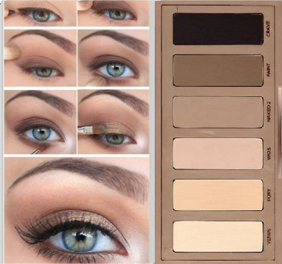 Top Naked Basics 2 | Natural smokey eye, Smokey eye makeup and Urban decay AT33