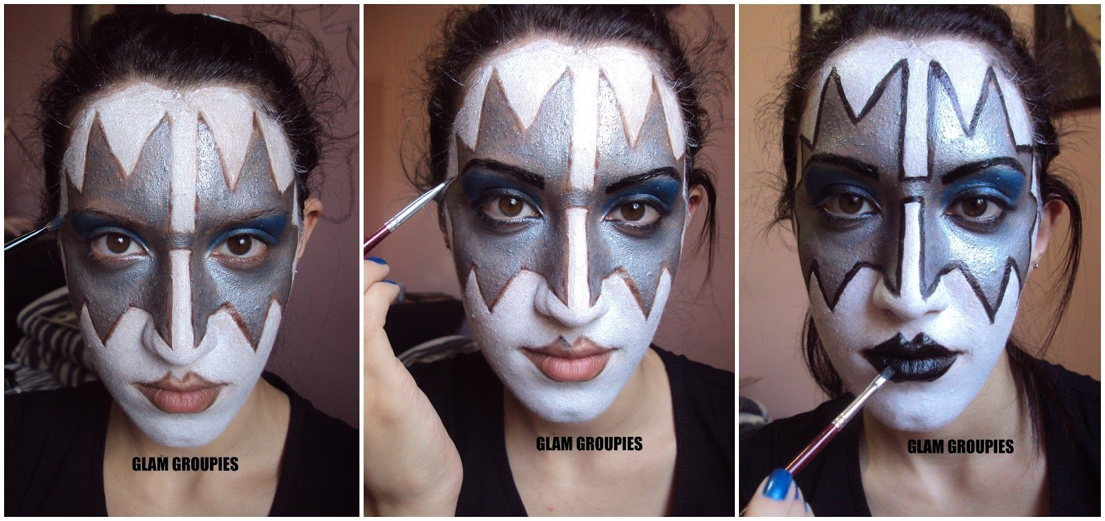 Spaceman Ace Frehley Tommy Thayer Ace Frehley Halloween Makeup