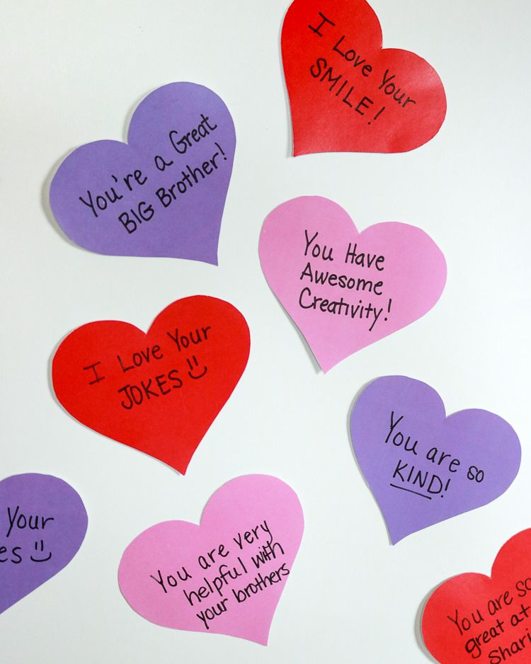 23ab2fa7c03 Everyday from Feb 1-14 leave a heart on the outside of your children s  bedroom doors telling them how much you love them! It s a Heart Attack! Plus  free ...