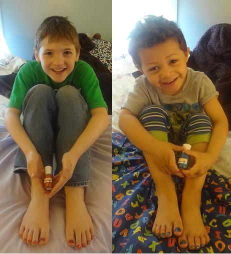 Boys Nail Polish: Hooray For Boys Who Rock Polish! :) How Do You Feel About