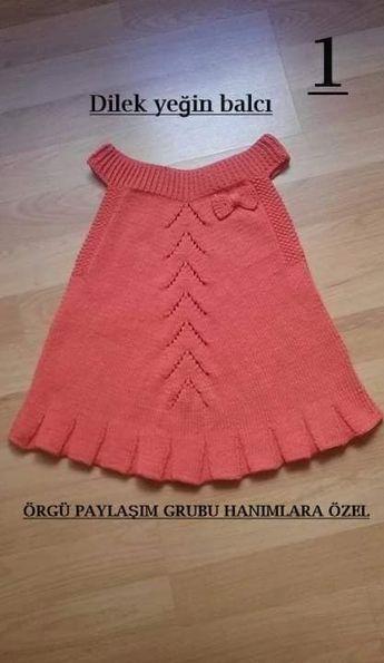 Stricken Plissee Gilet Kleid machen   – orgu