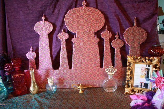 Free art and craft for kids aladdin google search for Arabian night decoration