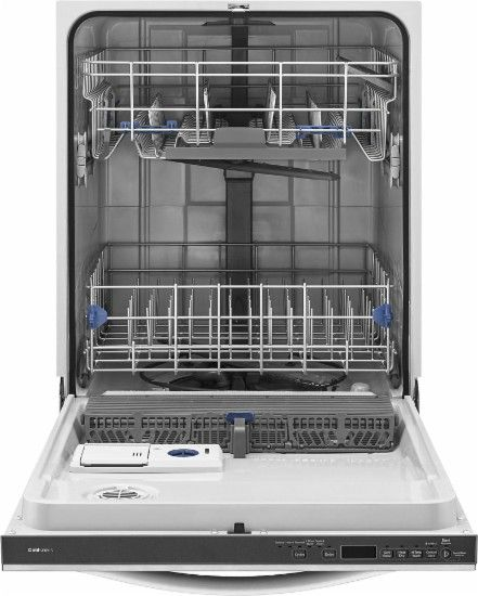 Whirlpool Gold 24 Tall Tub Built In Dishwasher Monochromatic