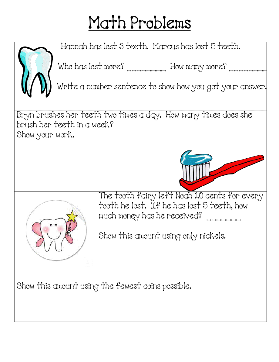 worksheet Health Worksheets For 2nd Grade fun in first grade dental health pinterest health