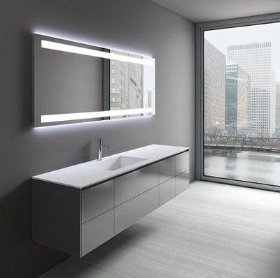 Beleuchtete Badezimmerspiegel Badspiegel Pinterest - modernes badezimmer designer badspiegel