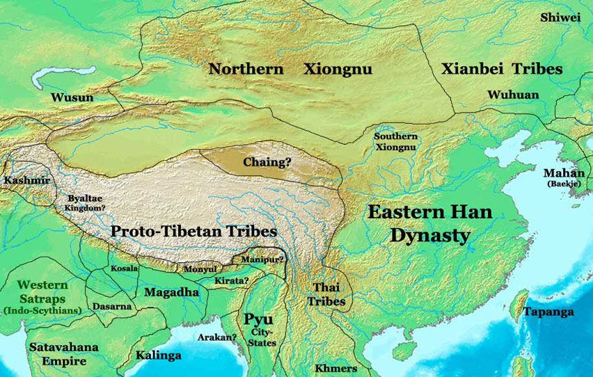 han dynasty The han dynasty is a chinese dynasty that existed from 206bce - 220ad it was located in south east china, surrounded by the yellow sea, the great wall, the gobi desert, and the himalayas the capital city of the han dynasty was chang'an.