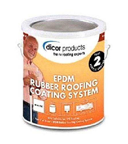 Dicor RPCRC1 White EPDM Rubber Roof Coating - 1 Gallon Dicor http://www.amazon.com/dp/B004A32HUY/ref=cm_sw_r_pi_dp_LqeOub09TJ98W