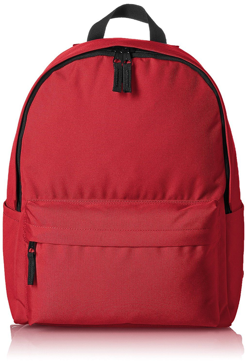 dc3d4f7b6a AmazonBasics Classic Backpack - Red *** Check this awesome product by going  to the link at the image. (This is an affiliate link) #BackpacksandBags