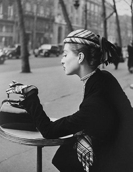 Pour Elle collections Haute Couture, 1955  © Georges Dambier