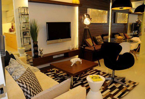 Dmci Model Units Condo Condo Interior Design Condo Interior Living Room Inspiration