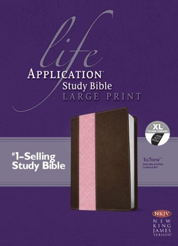 Life Application Study BibleNkjvLarge Print Life