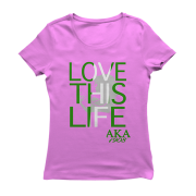 ALPHA KAPPA ALPHA-living Loving others are longing
