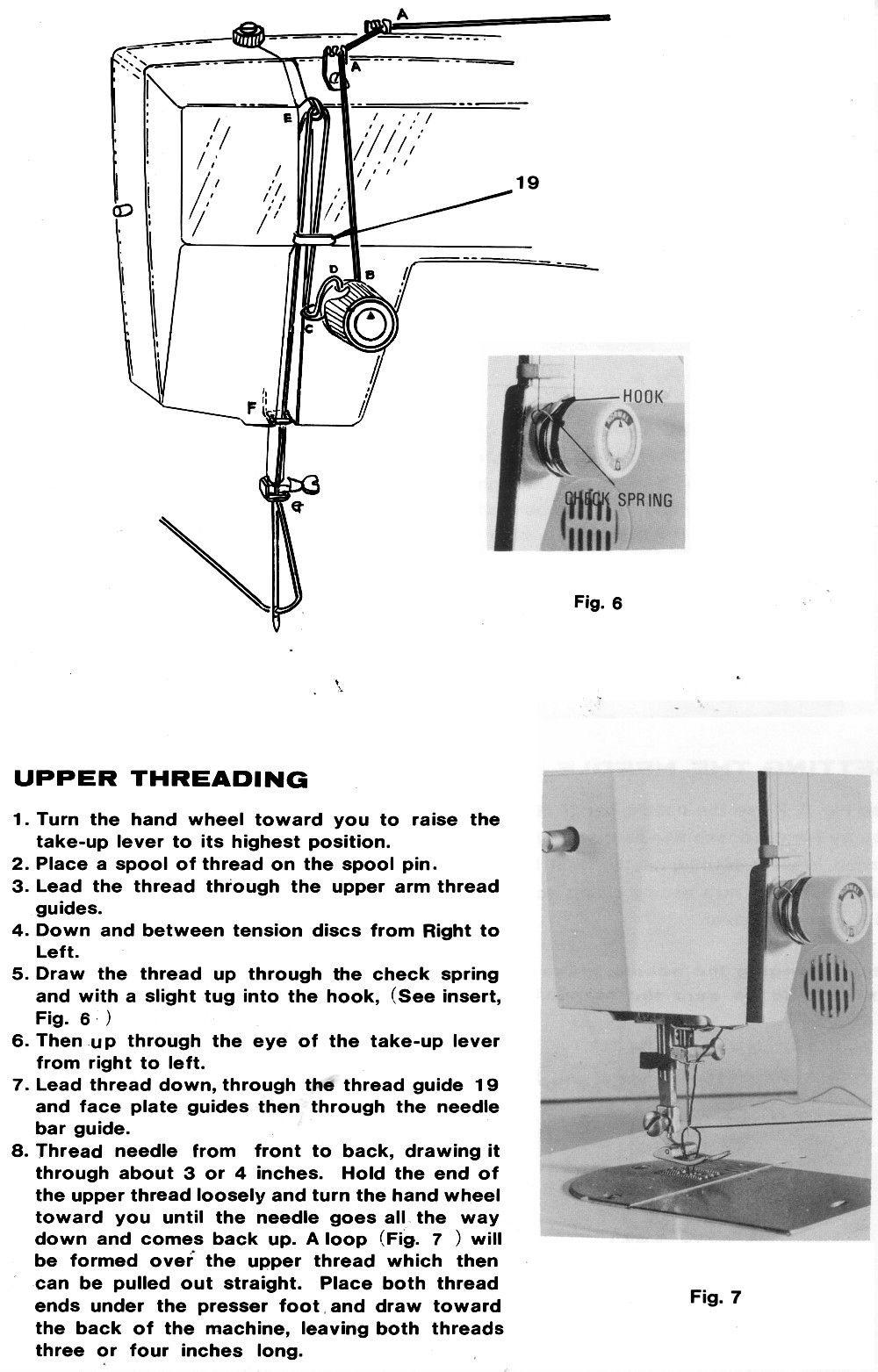 White 656 Sewing Machine Threading Diagram White Sewing Machine Sewing Machine Sewing