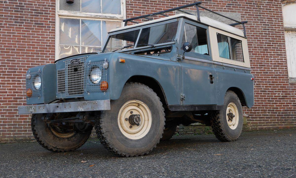 1970 Land Rover Series Iia Land Rover Land Rover Series Rover
