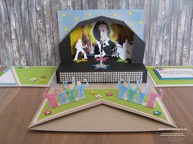 Konzertkarten Geschenkbox Explosionsbox Überraschungsbox