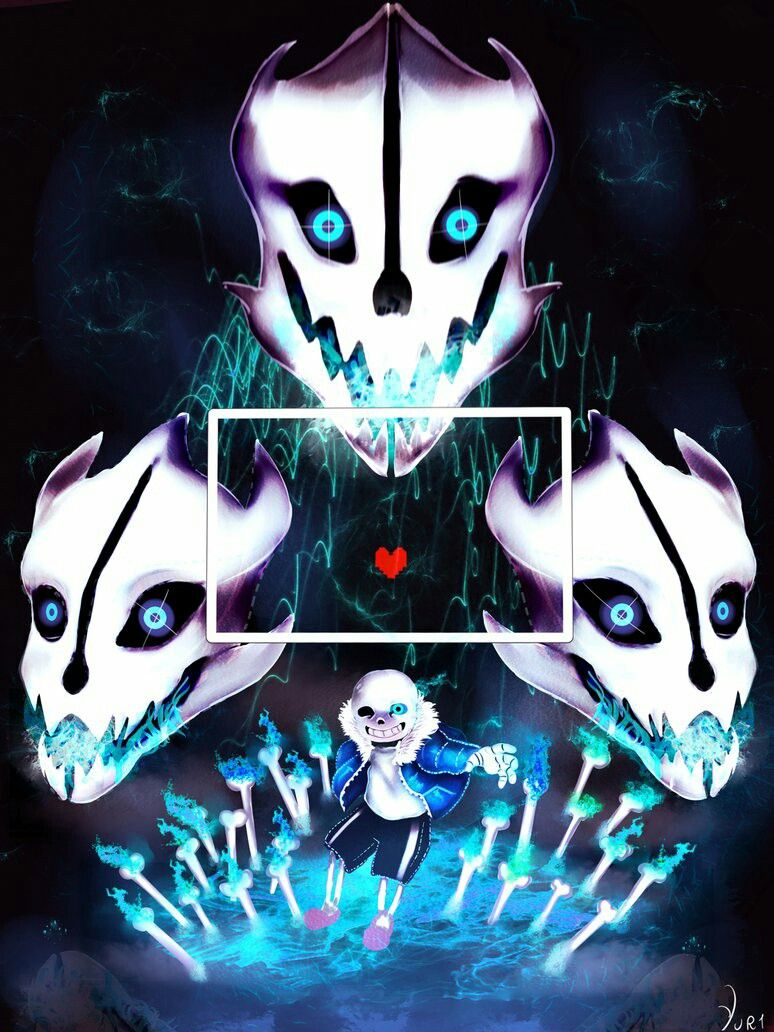 Sans Gaster Blaster Wallpaper Hd Undertale Comic Art