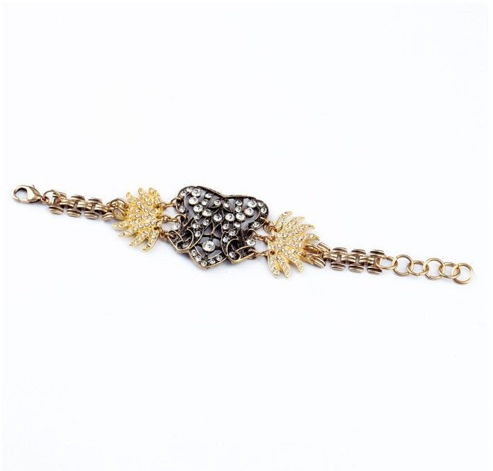 Jewelry Show—Cool Vintage Styel Bracelet with Rhinestones | PandaHall Beads Jewelry Blog