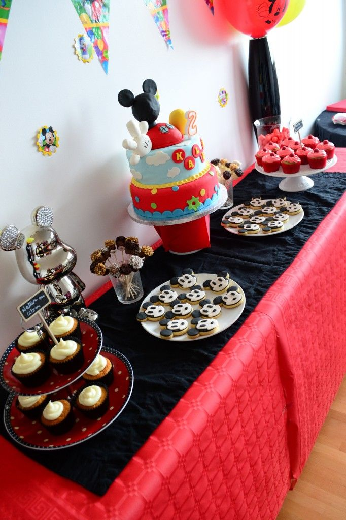 déco de table mickey | anniversaire | Birthday, Mickey mouse