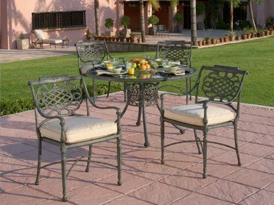 Woodard Landgrave Cast Aluminum Patio Furniture