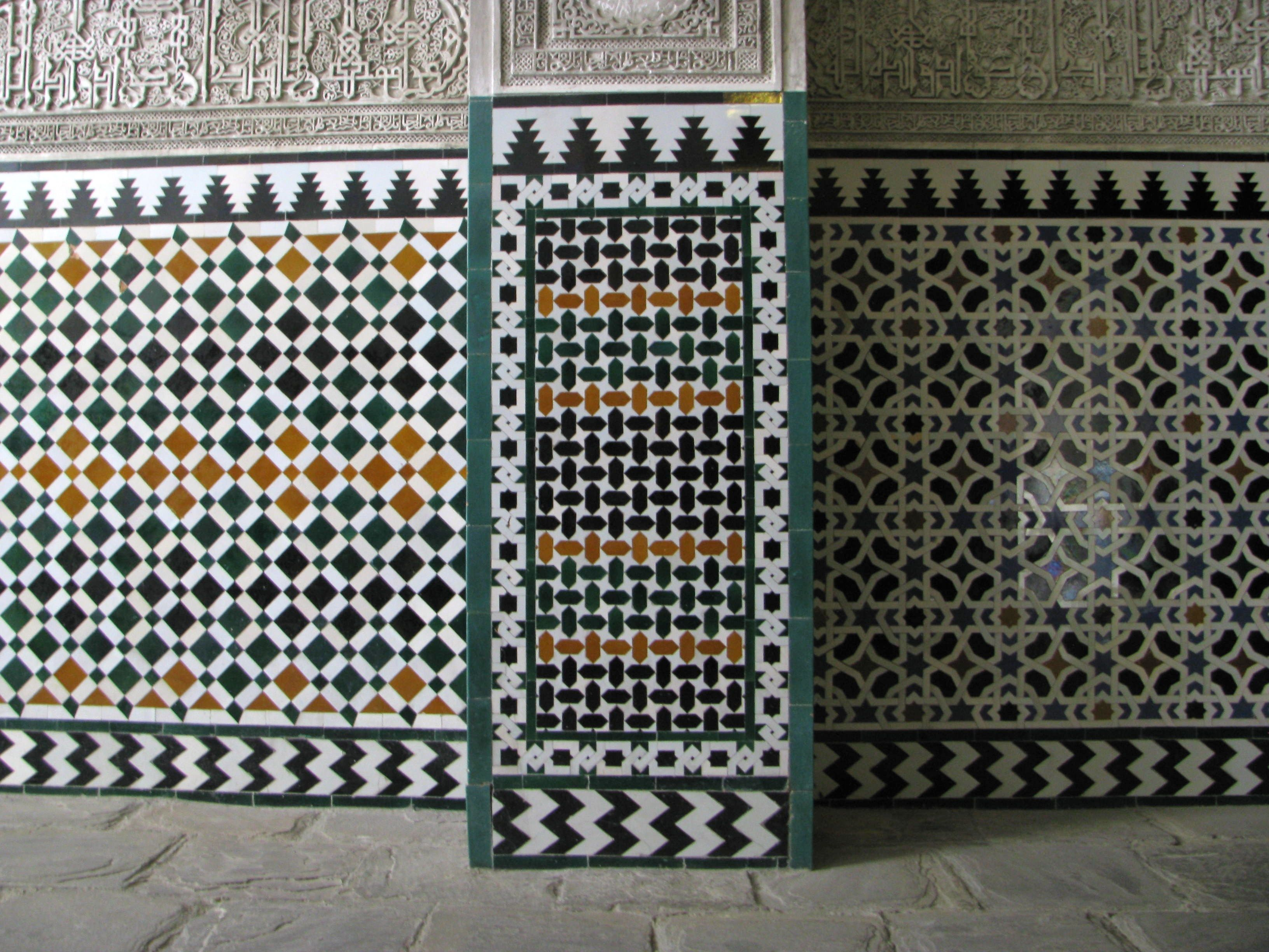Famous patterns iskanje google interiors pinterest mc moorish tiles like these are said to have influenced mc eschers work with repeating patterns doublecrazyfo Images