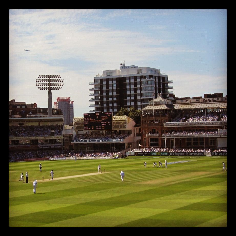 England V South Africa Test Match Lords Cricket Ground London England Cricket Team England V South Africa Cricket Match