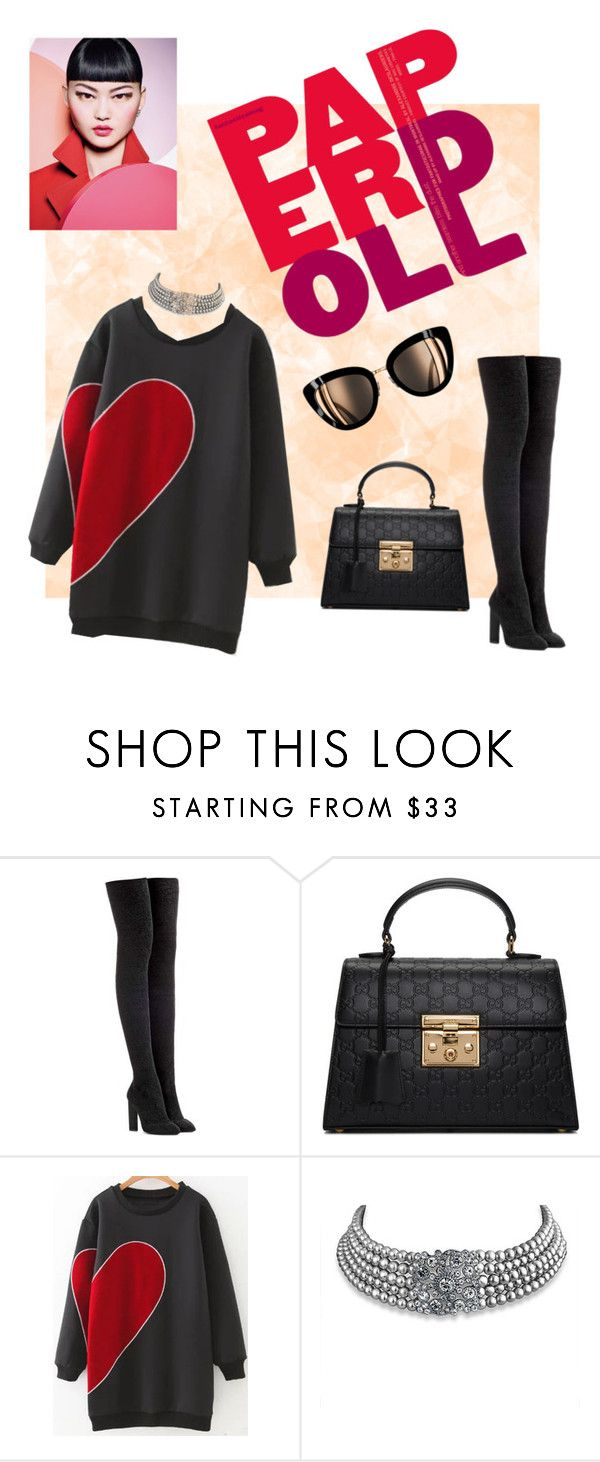 """""""Tonal"""" by sepatts ❤ liked on Polyvore featuring adidas Originals, Gucci, WithChic and Bling Jewelry"""