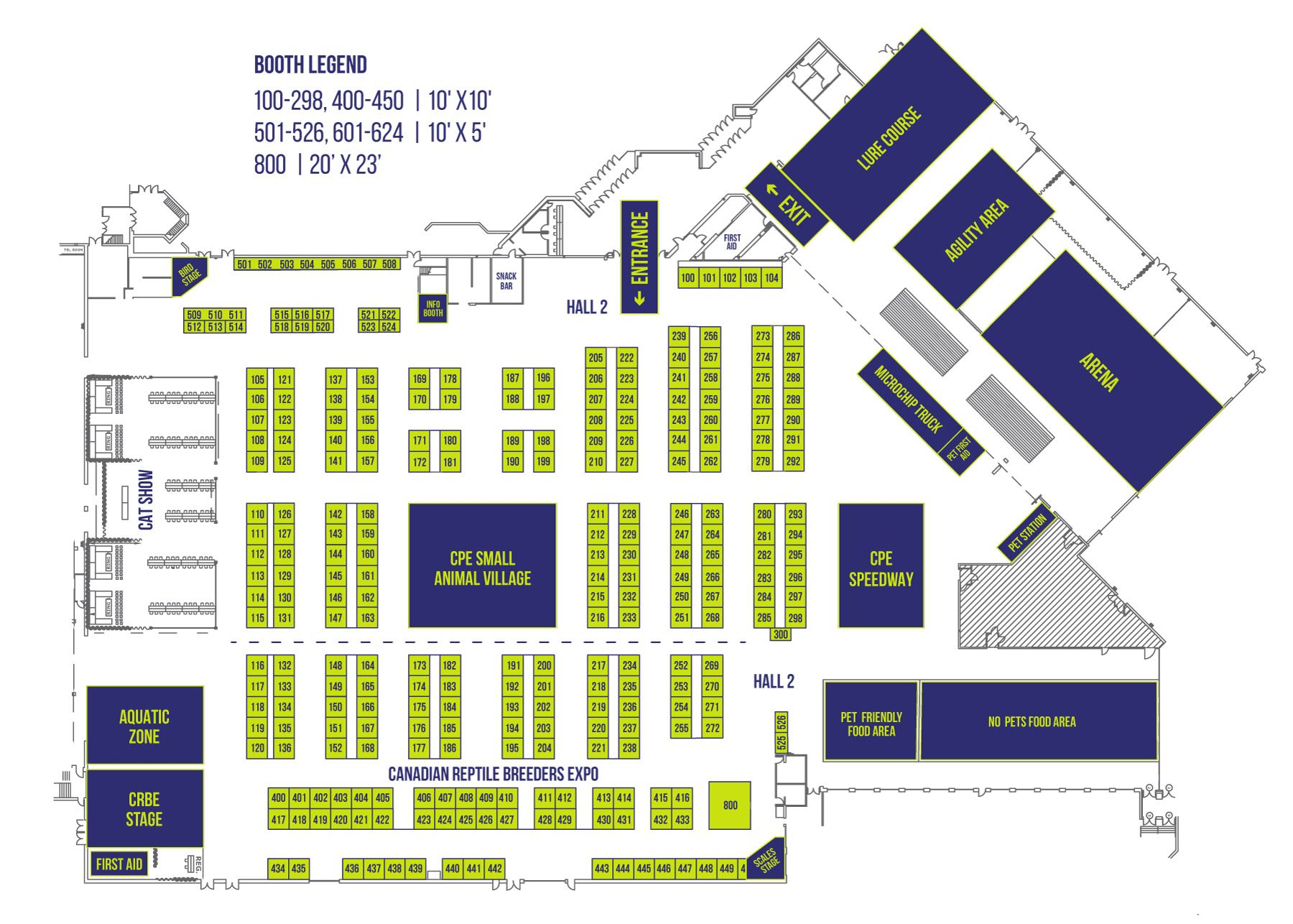 Canadian Pet Expo Sept 2018 Floorplan Floor Plans Pets Canadian