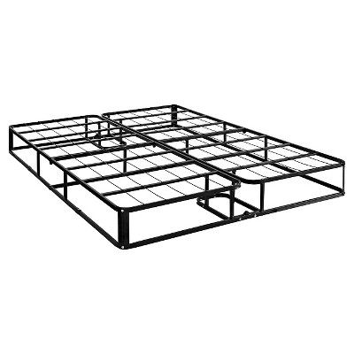 8.5 Premium Steel Mattress Foundation - Queen - Signature Sleep, Black