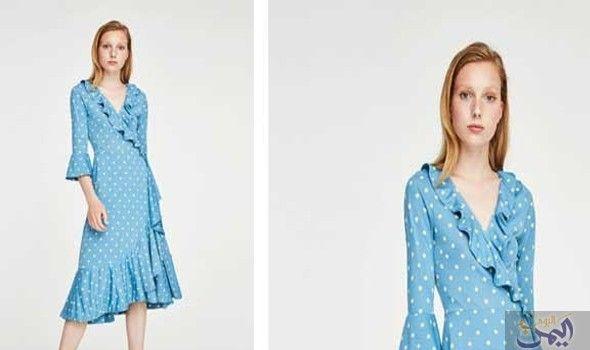 2ee7e5330f5cc الفساتين تتربع على قمة عرش الموضة في صيف 2019  إذا كنت لا تزالين تعتقدين أن