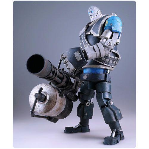 Team Fortress 2 BLU Robot Heavy Action Figure
