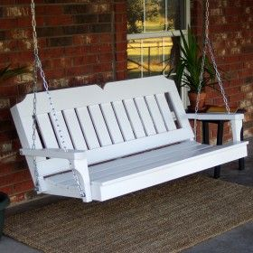 Tmp Outdoor Furniture Victorian White Porch Swing Porch Swing Outdoor Furniture Victorian Porch Swings