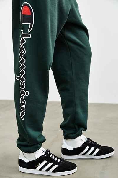 champion logo sweatpants