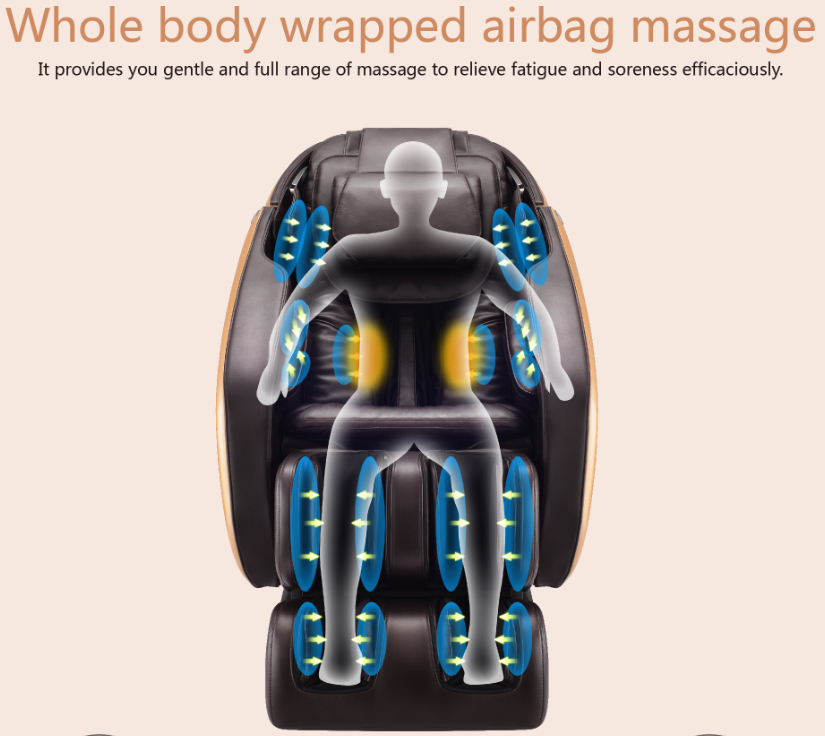 Rongtai Massage Chair Gym Exercise Guide Rt6037 Full Body 3d Zero Gravity View Aront Product Details From Shanghai Health Technology