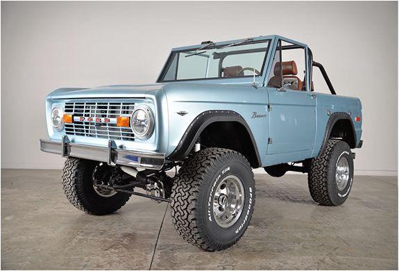 Classic Ford Broncos Ford Bronco Classic Ford Broncos Bronco