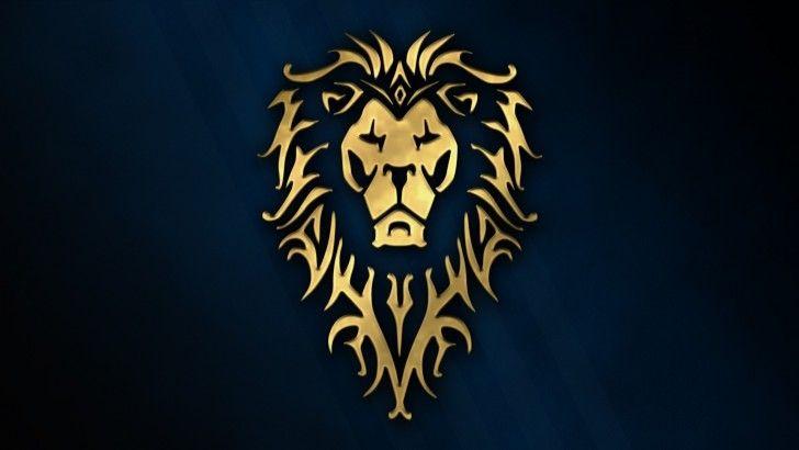Download Warcraft Alliance Logo Wallpaper 1920x1080 Leao Desenho Desenho Arte Do Leao