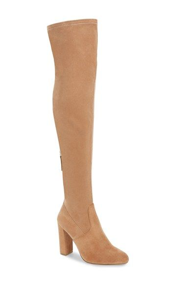 72aaf53d5ec Free shipping and returns on Steve Madden  Emotions  Stretch Over the Knee  Boot (Women) at Nordstrom.com. Sleek